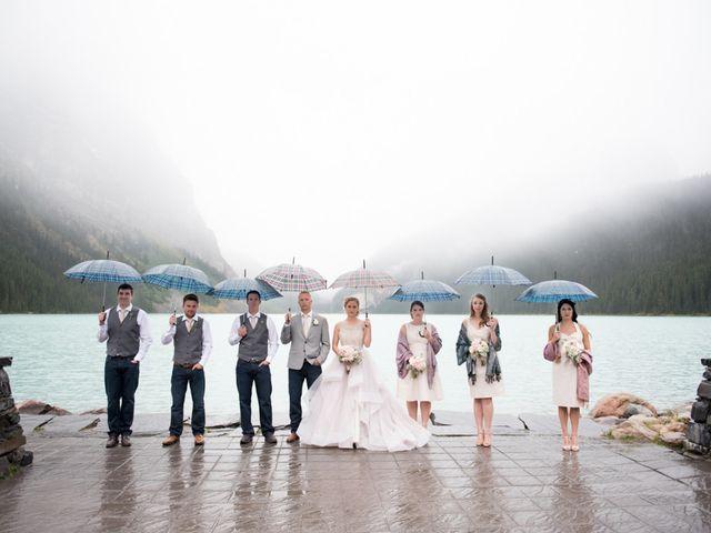 Richard and Alexis's wedding in Lake Louise, Alberta 27