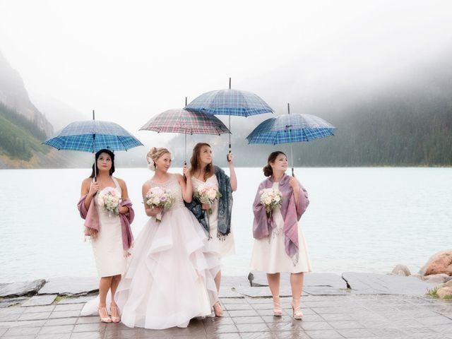 Richard and Alexis's wedding in Lake Louise, Alberta 28