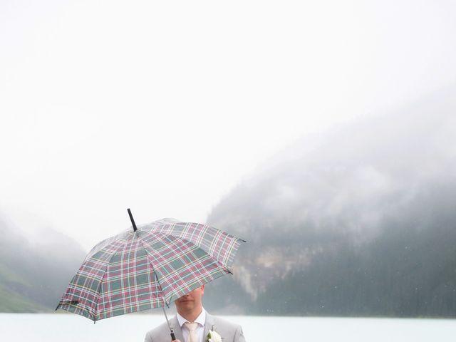 Richard and Alexis's wedding in Lake Louise, Alberta 30