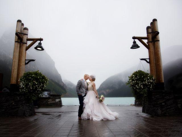 Richard and Alexis's wedding in Lake Louise, Alberta 32