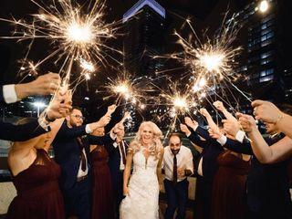 The wedding of Samantha and Thomas