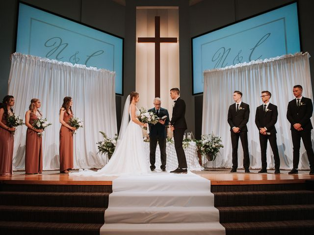 The wedding of Carli and Nicholas