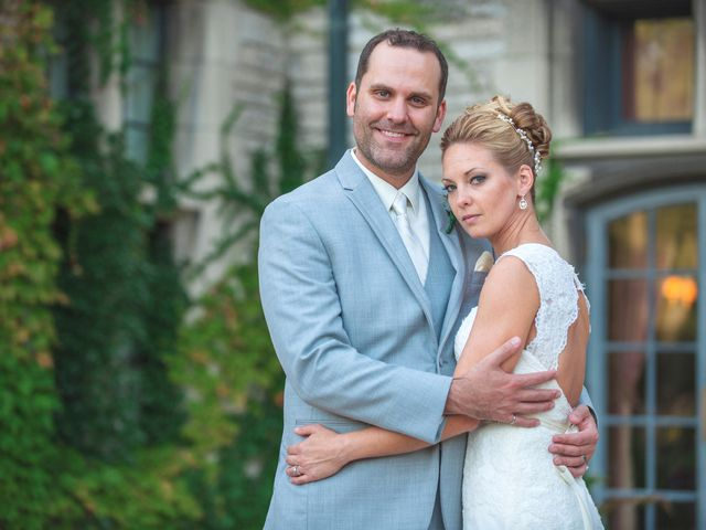The wedding of Melissa and Joe