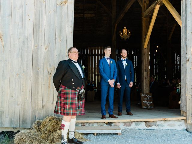 Kevin and Christine's wedding in Newmarket, Ontario 13