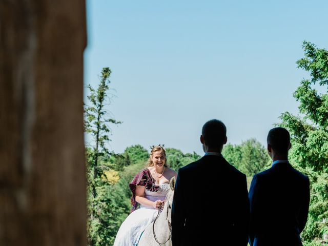 Kevin and Christine's wedding in Newmarket, Ontario 14