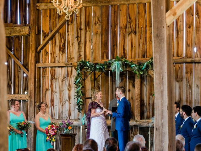 Kevin and Christine's wedding in Newmarket, Ontario 17