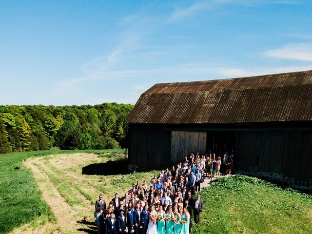 Kevin and Christine's wedding in Newmarket, Ontario 1