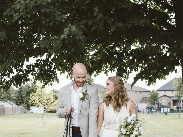 Matthew and Ruth's wedding in Hamilton, Ontario 14