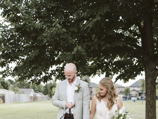 Matthew and Ruth's wedding in Hamilton, Ontario 16