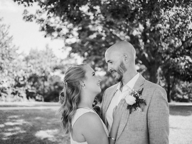 Matthew and Ruth's wedding in Hamilton, Ontario 1