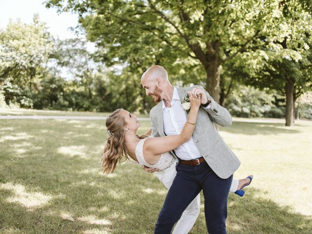 Matthew and Ruth's wedding in Hamilton, Ontario 2