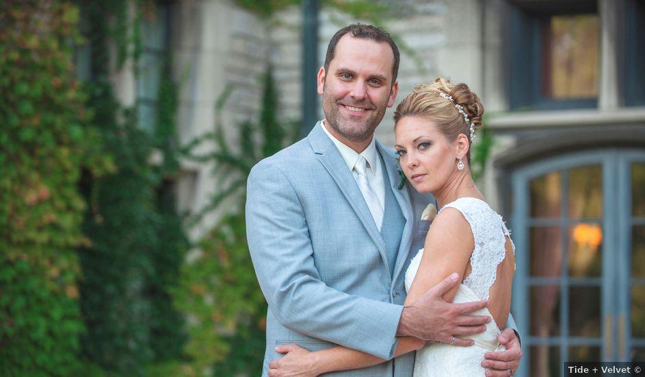 Joe and Melissa's wedding in Windsor, Ontario
