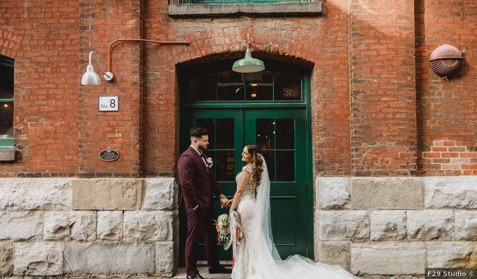 Jeff and Tania's wedding in Toronto, Ontario