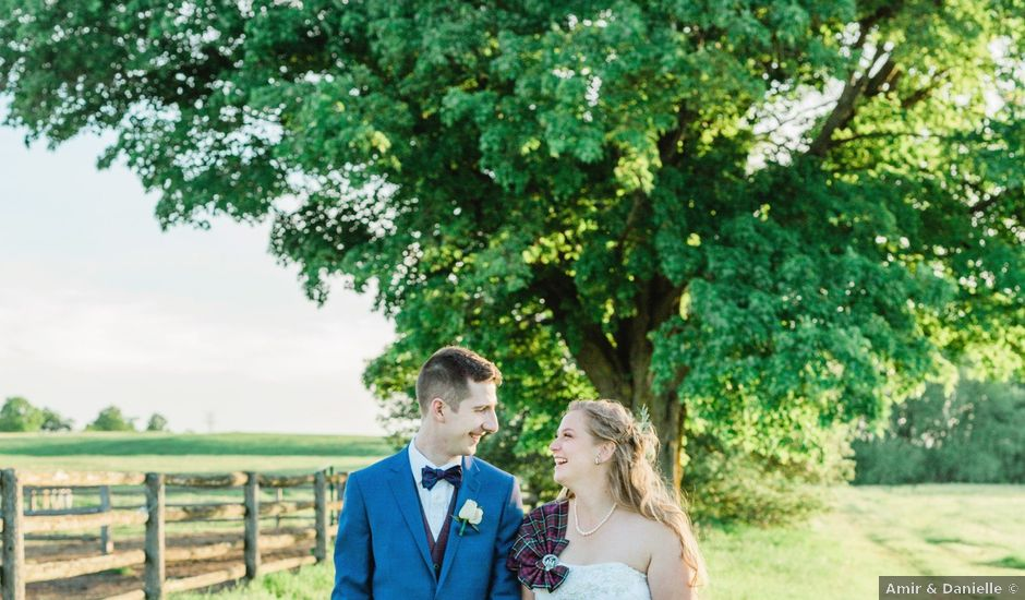 Kevin and Christine's wedding in Newmarket, Ontario