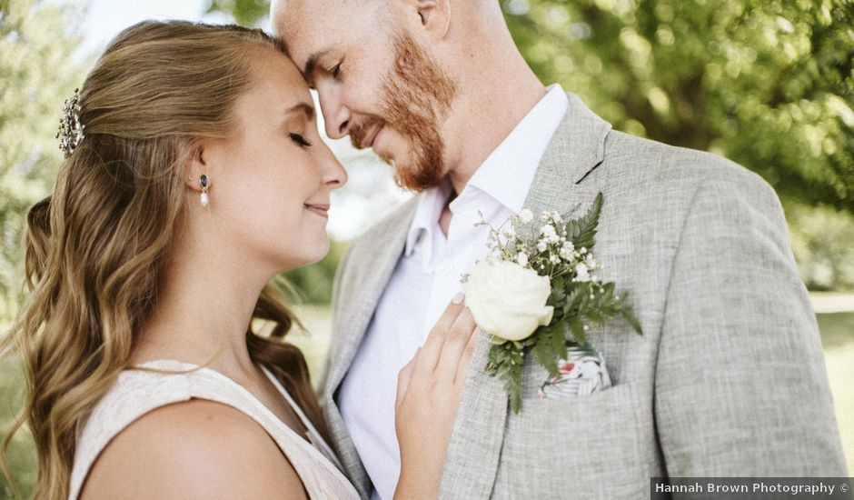 Matthew and Ruth's wedding in Hamilton, Ontario