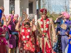 The wedding of Tanvi and Rob 1