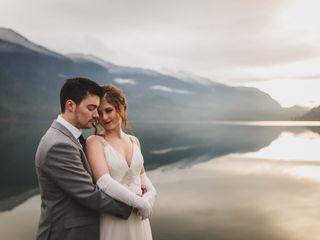 The wedding of Kimberley and Braydon