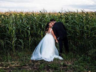 The wedding of Tanisha and James