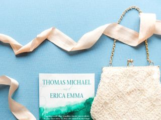The wedding of Erica and Thomas 1