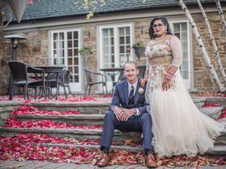 The wedding of Tanvi and Rob