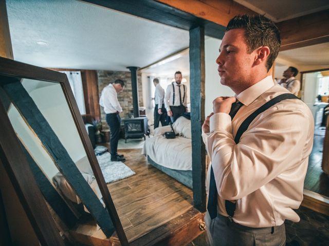 Miranda and Josh's wedding in Fort Langley, British Columbia 3