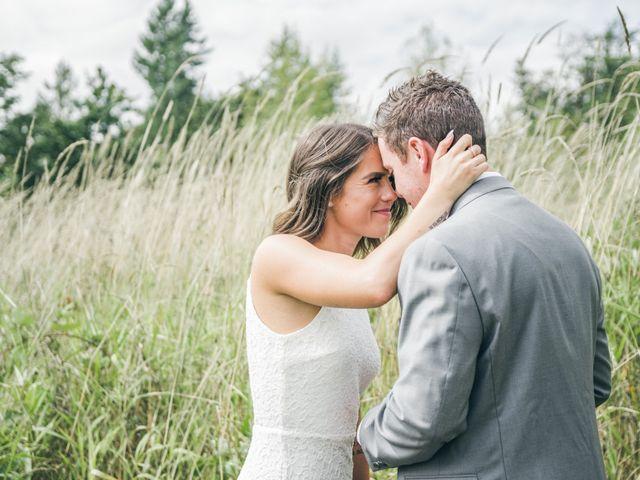 Miranda and Josh's wedding in Fort Langley, British Columbia 1