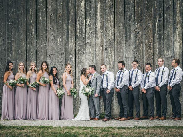 Miranda and Josh's wedding in Fort Langley, British Columbia 6