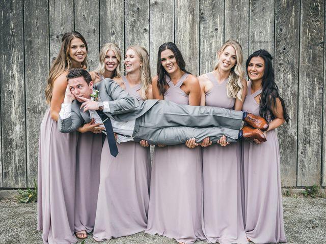 Miranda and Josh's wedding in Fort Langley, British Columbia 7