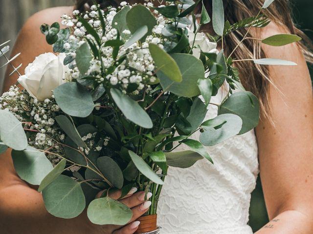 Miranda and Josh's wedding in Fort Langley, British Columbia 2