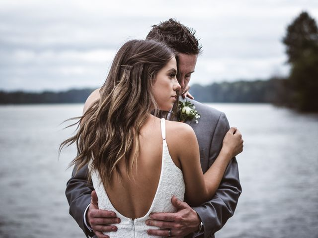 The wedding of Josh and Miranda