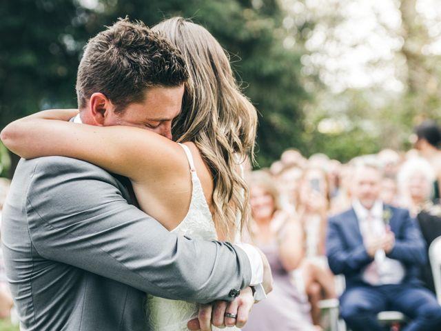 Miranda and Josh's wedding in Fort Langley, British Columbia 10