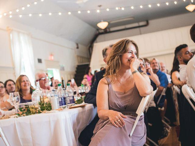 Miranda and Josh's wedding in Fort Langley, British Columbia 12