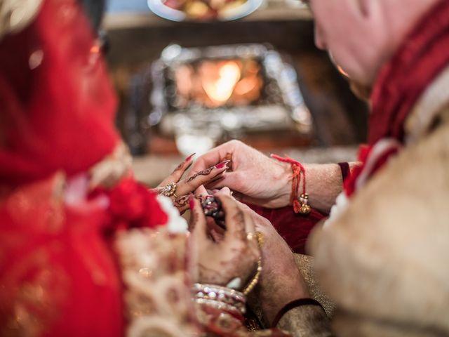 Rob and Tanvi's wedding in Oakville, Ontario 2