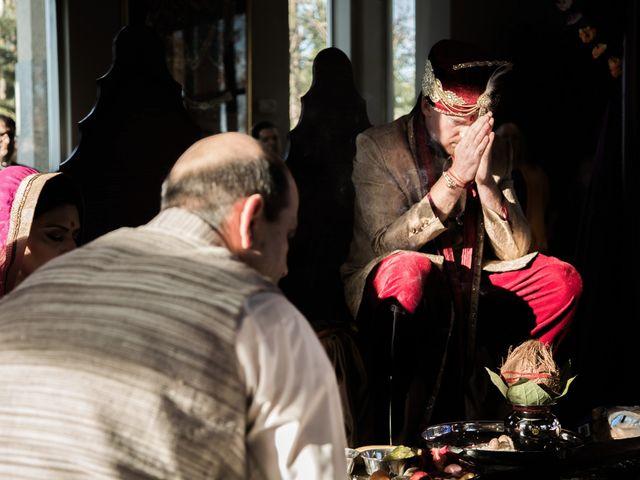 Rob and Tanvi's wedding in Oakville, Ontario 6