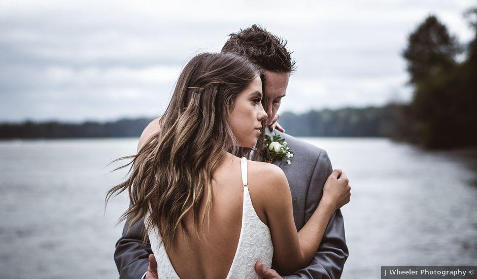 Miranda and Josh's wedding in Fort Langley, British Columbia