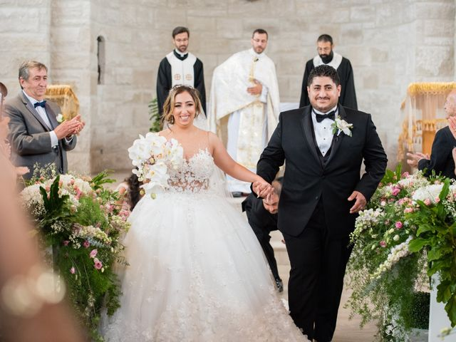 The wedding of Mary and Elie