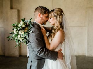 The wedding of Taylor and Zach