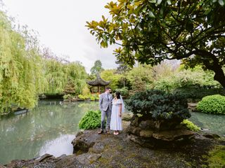 The wedding of Lisa and Jared