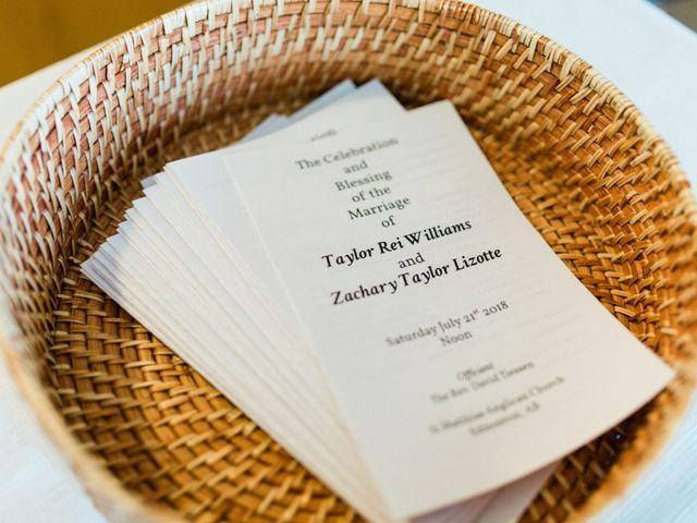 Zach and Taylor's wedding in Edmonton, Alberta 22
