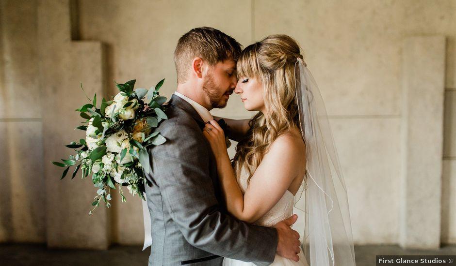 Zach and Taylor's wedding in Edmonton, Alberta