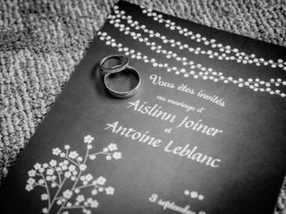 The wedding of Aislinn and Antoine 3