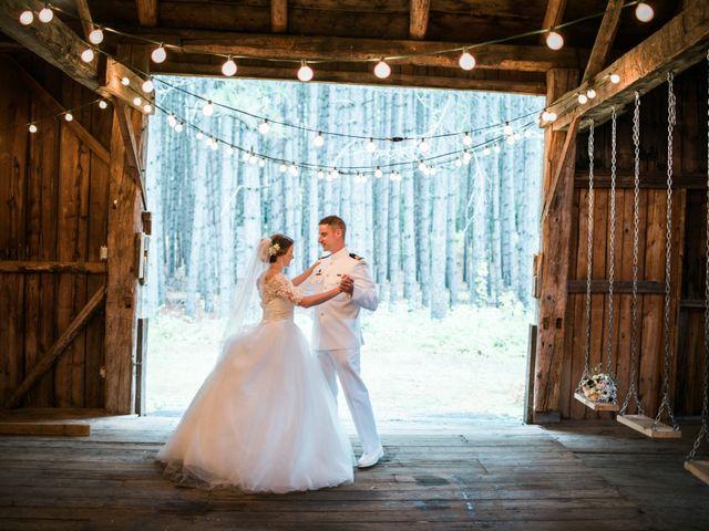 The wedding of Aislinn and Antoine