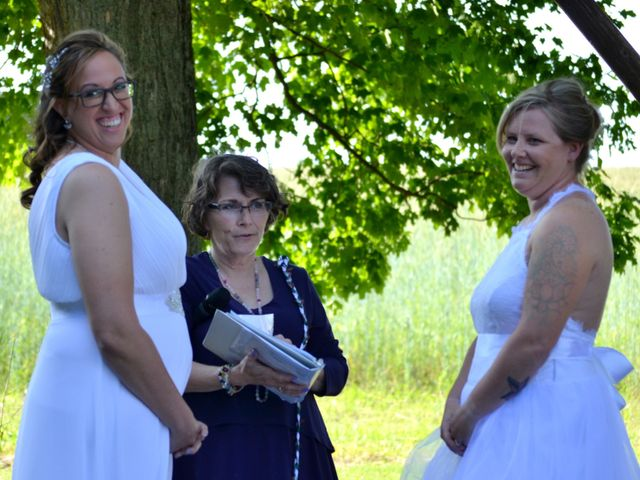 Brittany and April's wedding in Bowmanville, Ontario 6