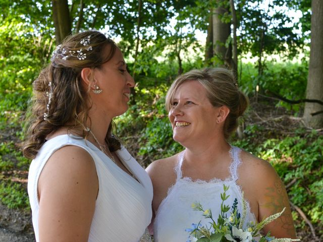 Brittany and April's wedding in Bowmanville, Ontario 1