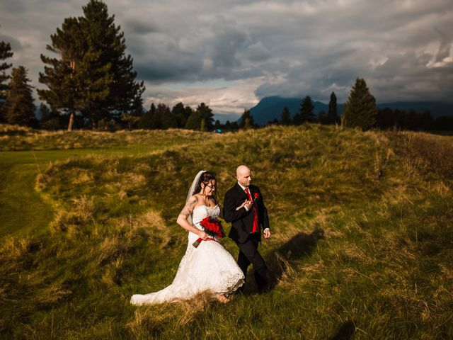 Jeff and Collette's wedding in Maple Ridge, British Columbia 4