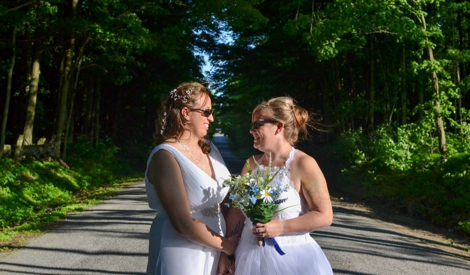 Brittany and April's wedding in Bowmanville, Ontario