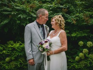 The wedding of Julie and Dwayne