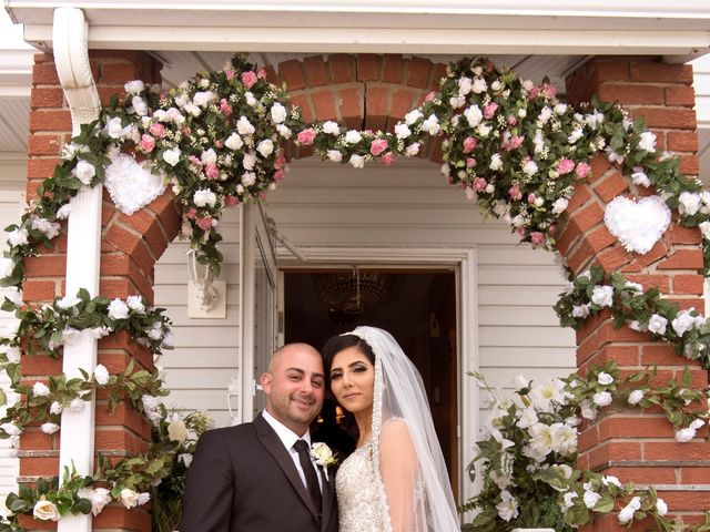 The wedding of Hanan and Omar