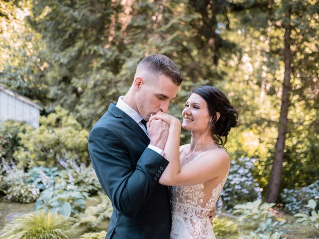 The wedding of Kaelin and Kevin