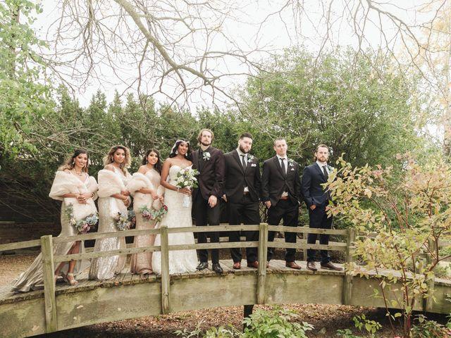 Jordan and Danielle's wedding in Ajax, Ontario 28